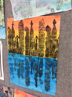 Art at Becker Middle School: Reflecting Architectural Printing