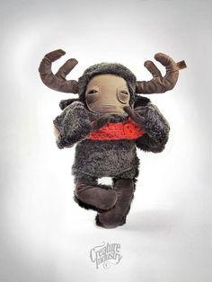 Moose creature