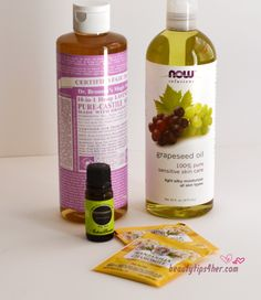 HOMEMADE NATURAL FACIAL CLEANSER- MORE EXPENSIVE IS RARELY BETTER