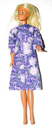 56 Trendy Ideas For Dress Pattern Vintage Barbie Clothes Sewing Barbie Clothes, Barbie Sewing Patterns, Vintage Barbie Clothes, Vintage Dress Patterns, Doll Clothes Patterns, Clothing Patterns, Doll Patterns, Trendy Dresses, Nice Dresses