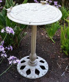 Innova Hearth & Home Motif Pedestal Birdbath | zulily
