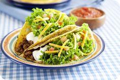 Kleurrijke taco's | Gezonde slanke recepten | Flinndal