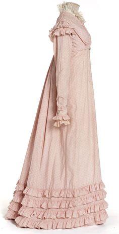 Robe, France, circa 1818-1820