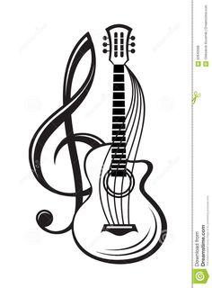 Clef Triple Et Guitare - Télécharger parmi plus de 61 Millions des photos, d'images, des vecteurs et . Inscrivez-vous GRATUITEMENT aujourd'hui. Image: 62640088