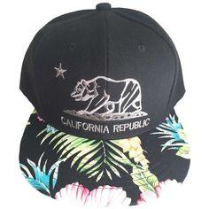 Aesthetinc California Republic Cali Bear Cap Hat Flat Bill Snapback... ( 18) 8a6a075ca