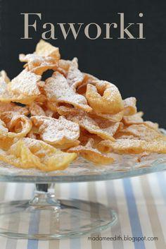 faworki Cereal, Dairy, Cheese, Baking, Breakfast, Pastries, Food, Morning Coffee, Bakken