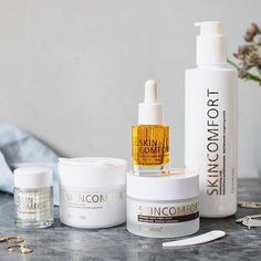 Our most luxurious series Dermosil Skin Comfort <3