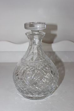 Vintage Crystal Decanter | eBay