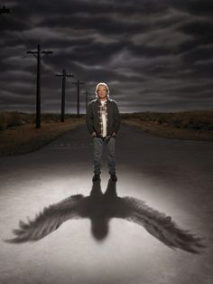 Saving Grace - Earl - Leon Rippy  Just finished watching all season- Going to miss this show so much.   <3