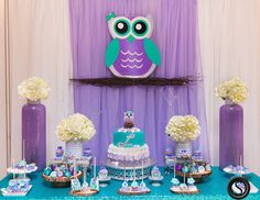 "Owl Theme / Baby Shower ""Whoooos Whoooo Baby Shower "" 