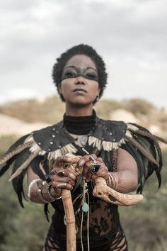 Afrofuturism and Interrupted Black Diaspora Identity Larp, Beltaine, Cosplay, Conquest Of Mythodea, Festival Looks, Warrior Princess, Poses, Halloween Kostüm, Afro Art