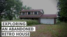 RETRO ABANDONED HOUSE TOUR Abandoned Houses, House Tours, Shed, It Cast, Outdoor Structures, Explore, Retro, Outdoor Decor, Home Decor