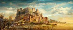 ruined fantasy desert castle - Google Search