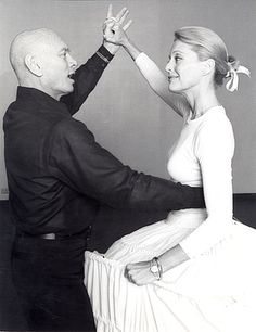 The King and I, 1977 production, with Yul Brynner and Constance Towers.