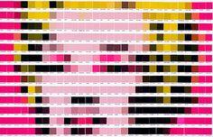 Nick Smith levou sua obsessão cultural para outro nível, ao usar paletas Pantone para recriar pinturas clássicas de artistas. Conheça o projeto Psycolourgy!