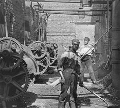 Wigan Rolling Mills (iron and steel) in the late nineteenth century