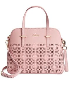 Beautiful bags kate spade new york Cedar Street Perforated Maise Satchel Burberry Handbags, Prada Handbags, Satchel Handbags, Purses And Handbags, Burberry Bags, Gucci, Kate Spade Purse, Kate Spade Handbags, Black Cross Body Bag