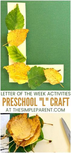 Letter L Activity for Preschool - This easy art & crafts idea is perfect for toddlers and for preschoolers. Letter of the week activities can help them learn the alphabet in a very hands-on way. Crafts for kids are a fun way to learn and be creative! #alphabet #preschool