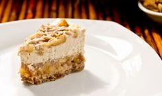 Vegan Raw Caramel Apple Cheezecake