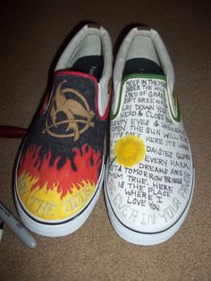 Hunger games shoes