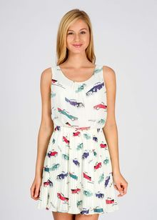Sukienka ANDY WARHOL BY PEPE JEANS cheryl 2e3c358198