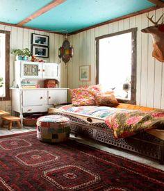 Dormitorios infantiles de estilo bohemio