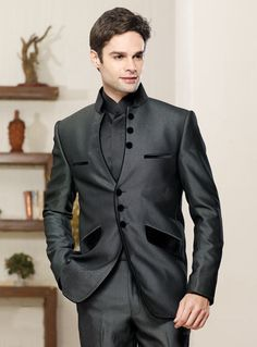 New Men Customized Formal Blazer Trouser by Prideofrajasthan, $450.00
