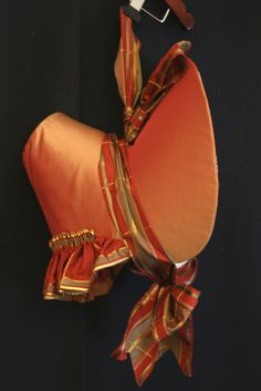 Early 19th Century reproduction by Kay Demlow  #millinery #judithm #hats