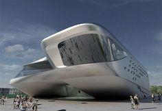 Guggenheim Hermitage Museum, Vilnius by Zaha Hadid Architects   Design