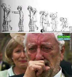 Que sad men borra eso Sad Comics, Cute Comics, Funny Comics, Stupid Funny Memes, Hilarious, Sad Art, Sad Stories, Humor Grafico, Sad Anime