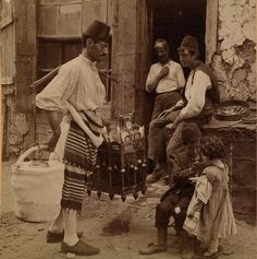 Ice cream Merchant, Istanbul by Ottoman History Podcast, via Flickr. Ice cream merchant, Constantinople, B. Kilburn 1898 (LOC). With their idiosyncratic cries and costumes, street vendors were integral to the symphony of sights and sounds in cities like Istanbul.