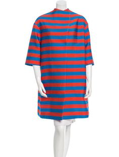 Antonio Marras Striped Oversize Jacket
