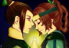Avatar the Last Airbender - Princess Azula x Ty Lee - Tyzula