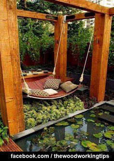 Ruhe finden in kleiner Gartenoase