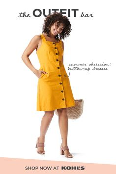b73814d43 Find new summer looks featuring yellow at The Outfit Bar at Kohl's. We can'