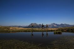 Wandern in Wagrain Kleinarl. Sommerurlaub in den Alpen.