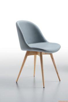 Sonny LG | Sedia in legno, diversi rivestimenti e colori disponibili