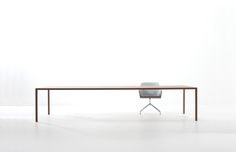 Davis Furniture   Span - Overview - reading table? or are there too many in the space to appreciate the elegance?