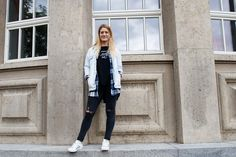 Streetstyle Destroyed Jeans