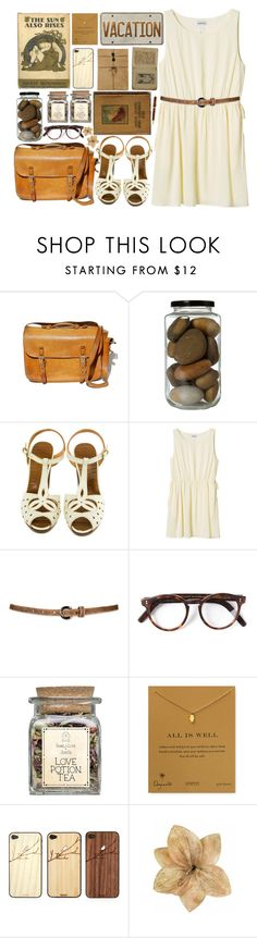 """""""551"""" by arierrefatir ❤ liked on Polyvore featuring Chie Mihara, Monki, Cutler and Gross, Dogeared, Toast, Mont Blanc and Clips"""