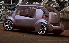 Skoda Ago EXPO Taxi is an experimental concept taxi designed by Maxim Shershnev and Tigran Lalayan. The concept was developed at Scuola Politecnica di Design Microcar, Volkswagen Group, Expo 2015, Mode Of Transport, Smart Car, Futuristic Cars, Cute Cars, Transportation Design, Concept Cars