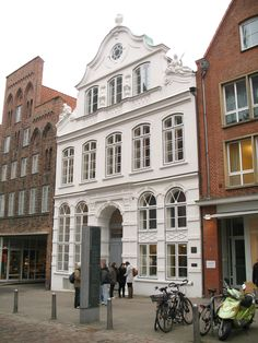 The Buddenbrooks House in Lubeck. Buddenbrooks, by Thomas Mann, is one of the best books I've ever read.