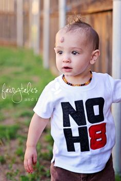 No H8 Equal Rights Campaign Embroidered by fairytalesfireflies, $20.00. Awesome, awesome, AWESOME!!!! I'm totally going to order for my kiddo's!!! NOH8.... EVER! Be an ally!