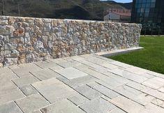 Hand Cut Kavalas Slate (Random Pattern)   Akrolithos Outdoor Paving, Thasos, Crazy Paving, Random Pattern, French Pattern, Flat Rock, Garden Steps, Alexander The Great, Star Sky