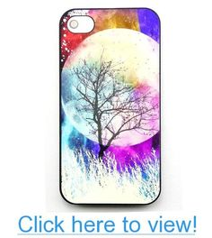 Unique effect glow fluorescent Hard Cover Case Moon forest tree for iphone 4 4G 4S case with free LCD Film Screen Protector #Unique #effect #glow #fluorescent #Hard #Cover #Case #Moon #forest #tree #iphone #4G #4S #case #free #LCD #Film #Screen #Protector