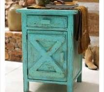 Rustic Unfinished HandPeeled Rustic Nightstand with Shelf - Reclaimed Furniture Design Ideas Western Furniture, Reclaimed Wood Furniture, Distressed Furniture, Shabby Chic Furniture, Rustic Furniture, Painted Furniture, Diy Furniture, Furniture Design, Bedroom Furniture