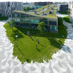 Funenpark in Amsterdam by LANDLAB studio voor landschapsarchitectuur (Arnhem) in collaboration with O.S.L.O (Berlicum)