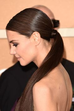 Ponytail styling tips straight from the red carpet.