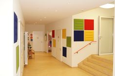 Kindergarten Dossenheim, Germany Acoustic Panels, Kindergarten, Divider, Germany, Room, Furniture, Home Decor, Bedroom, Decoration Home