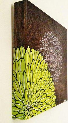 Canvas Painting Designs, Zen Painting, Dot Art Painting, Diy Canvas Art, Diy Wall Art, Mandala Art Therapy, Mandala Art Lesson, Mandala Drawing, Mandala Mural